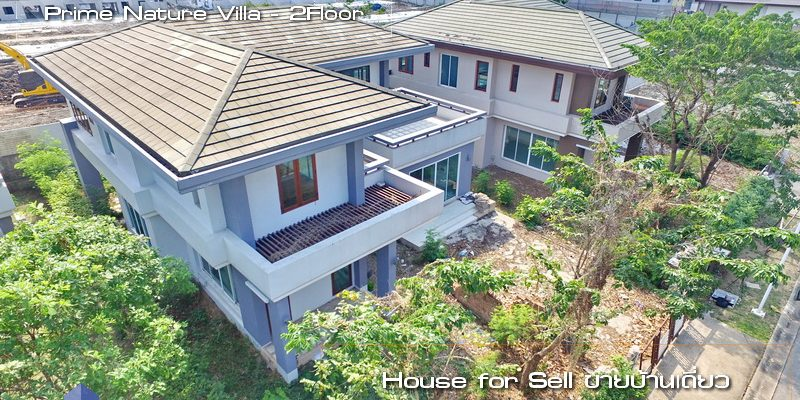 Sell House Prime Nature Villa - Near Suvarnabhumi Airport - Onnut , Gingkaew